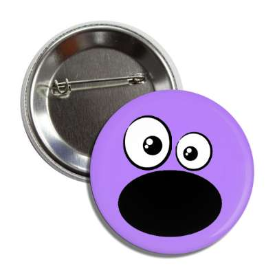 purple wide mouth smiley button