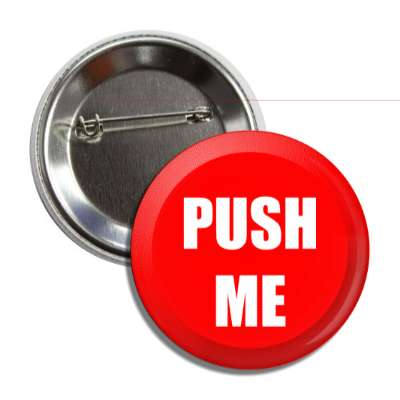 push me red button button