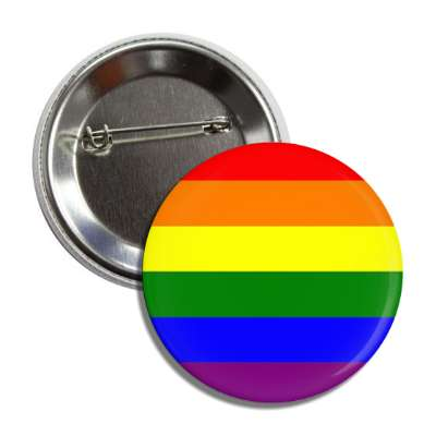rainbow lgbt colors flag button