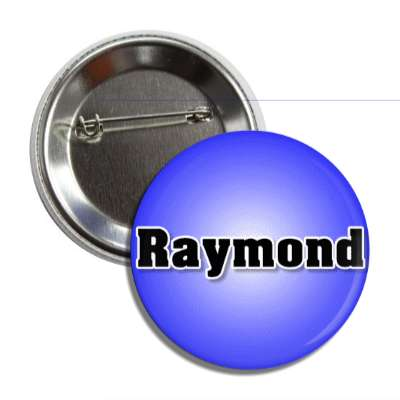 raymond male name blue button