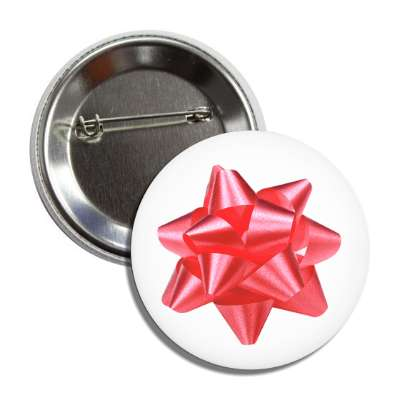 red gift ribbon button