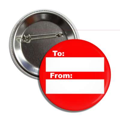 red to from gift tag button