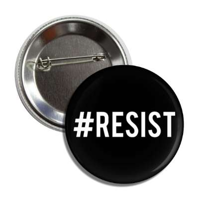 resist hashtag button