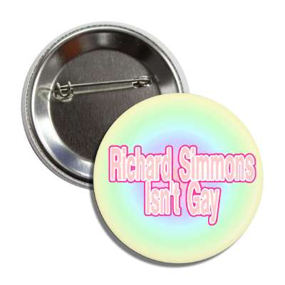 richard simmons button