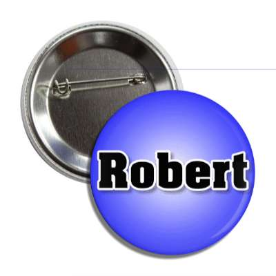 robert male name blue button