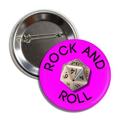 rock and roll button