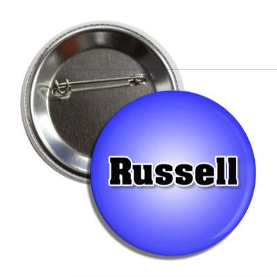 russell male name blue button