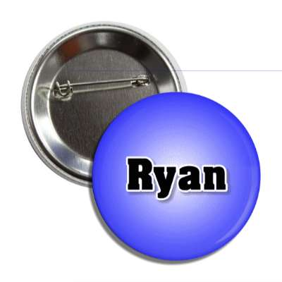 ryan male name blue button