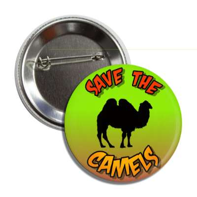 save the camels silhouette button
