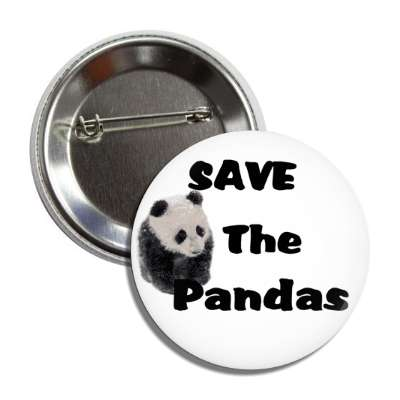 save the pandas button