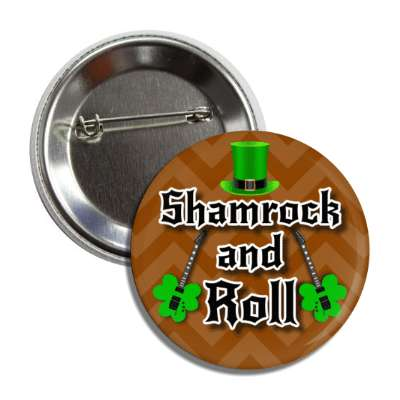 shamrock and roll button