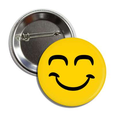 smiley closed eyes dreaming button