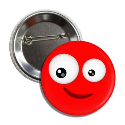 smiley red looking button