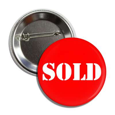 sold stencil red button