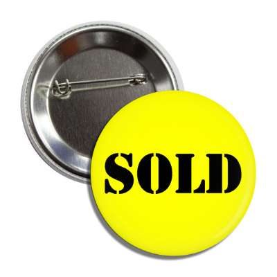 sold stencil yellow button