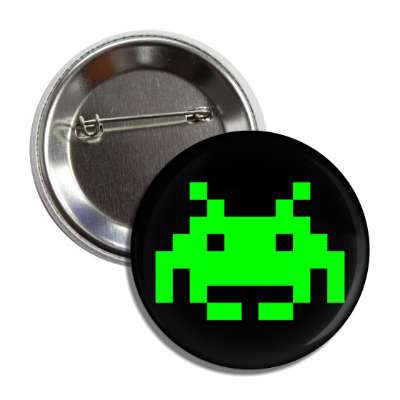 space invaders alien button