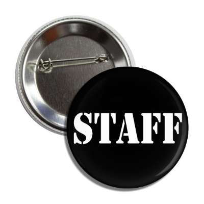 staff stencil button