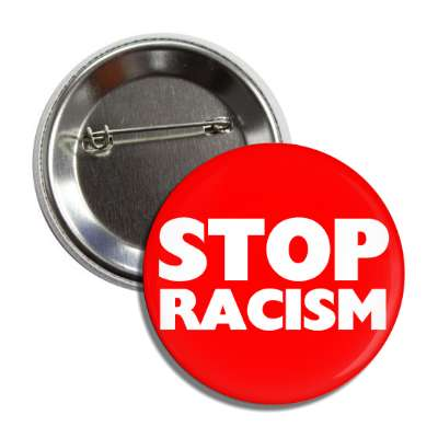 stop racism red button