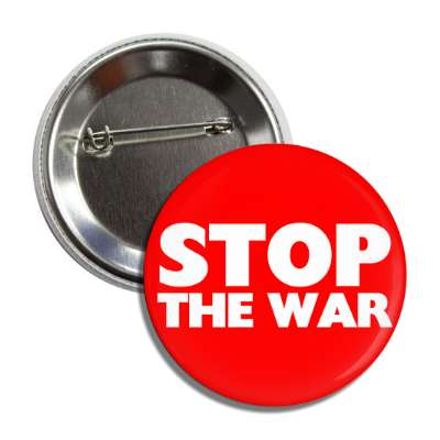 stop the war button