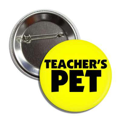 teachers pet button