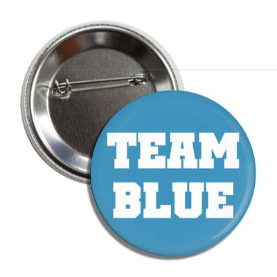 team blue bold block button