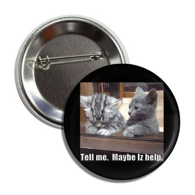 tell me maybe iz help button