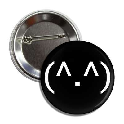 text smiley cat anime face button