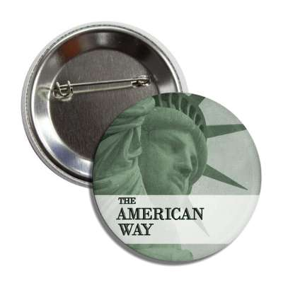 the american way button