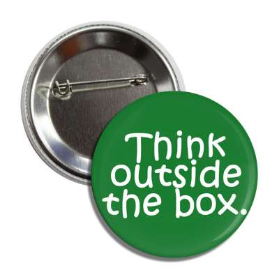 think outside the box button