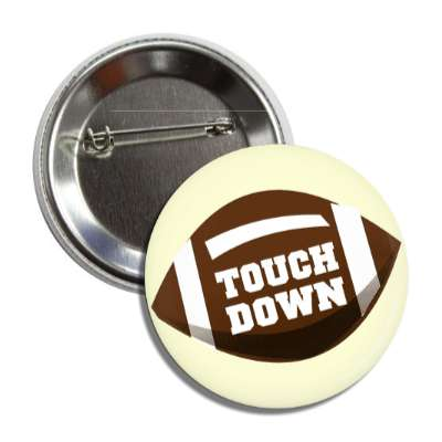 touchdown football button