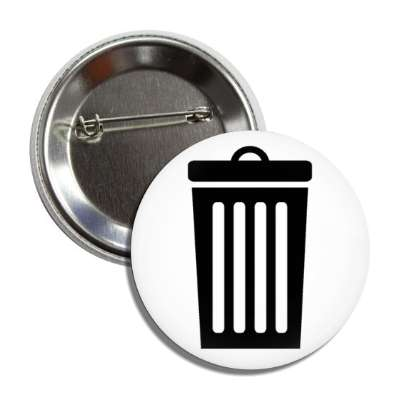 trash can garbage button