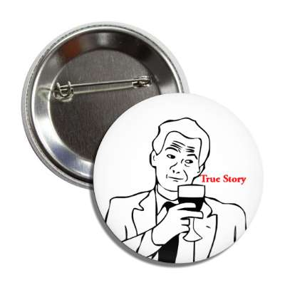 true story line art button