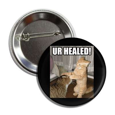 ur healed button