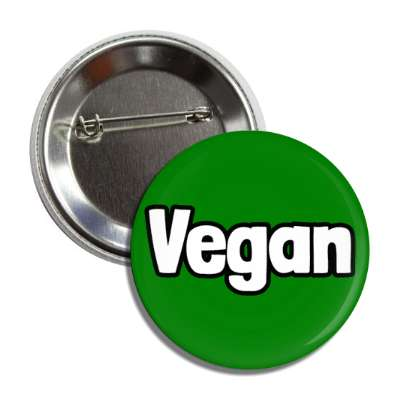 vegan green button