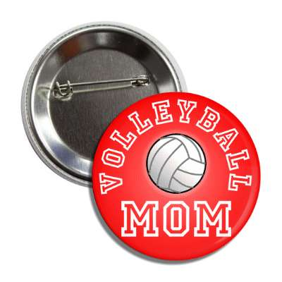 volleyball mom red button