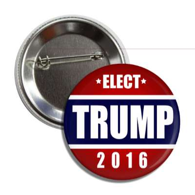vote trump 2016 dark blue middle red top bottom button