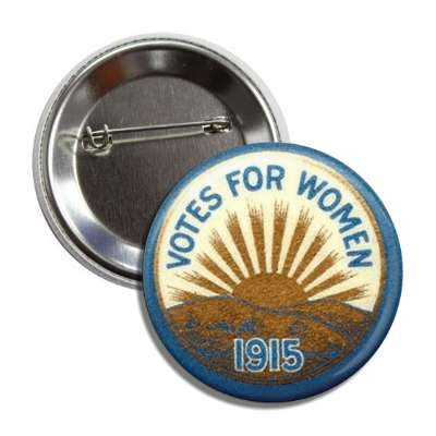 votes for women 1915 button