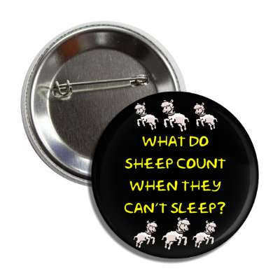 what do sheep count when they cant sleep button