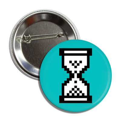 windows 95 hourglass teal button