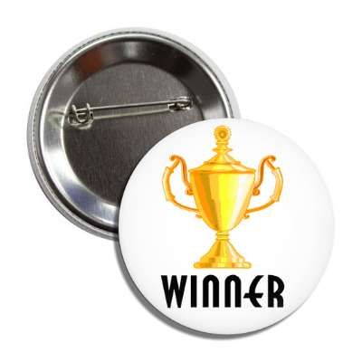 winner trophy white button