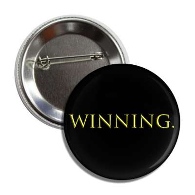 winning bevel gold button