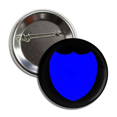 police badge black blue button