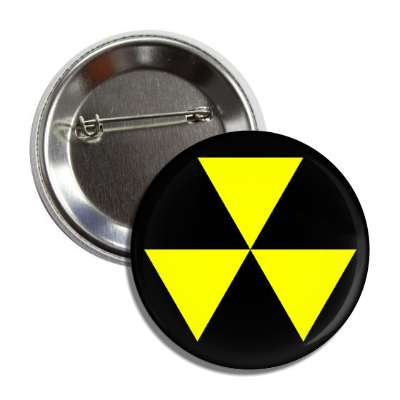 fallout shelter symbol radioactive button